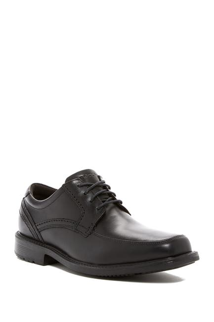 Image of Rockport Leather Apron Toe Derby - Wide Width Available