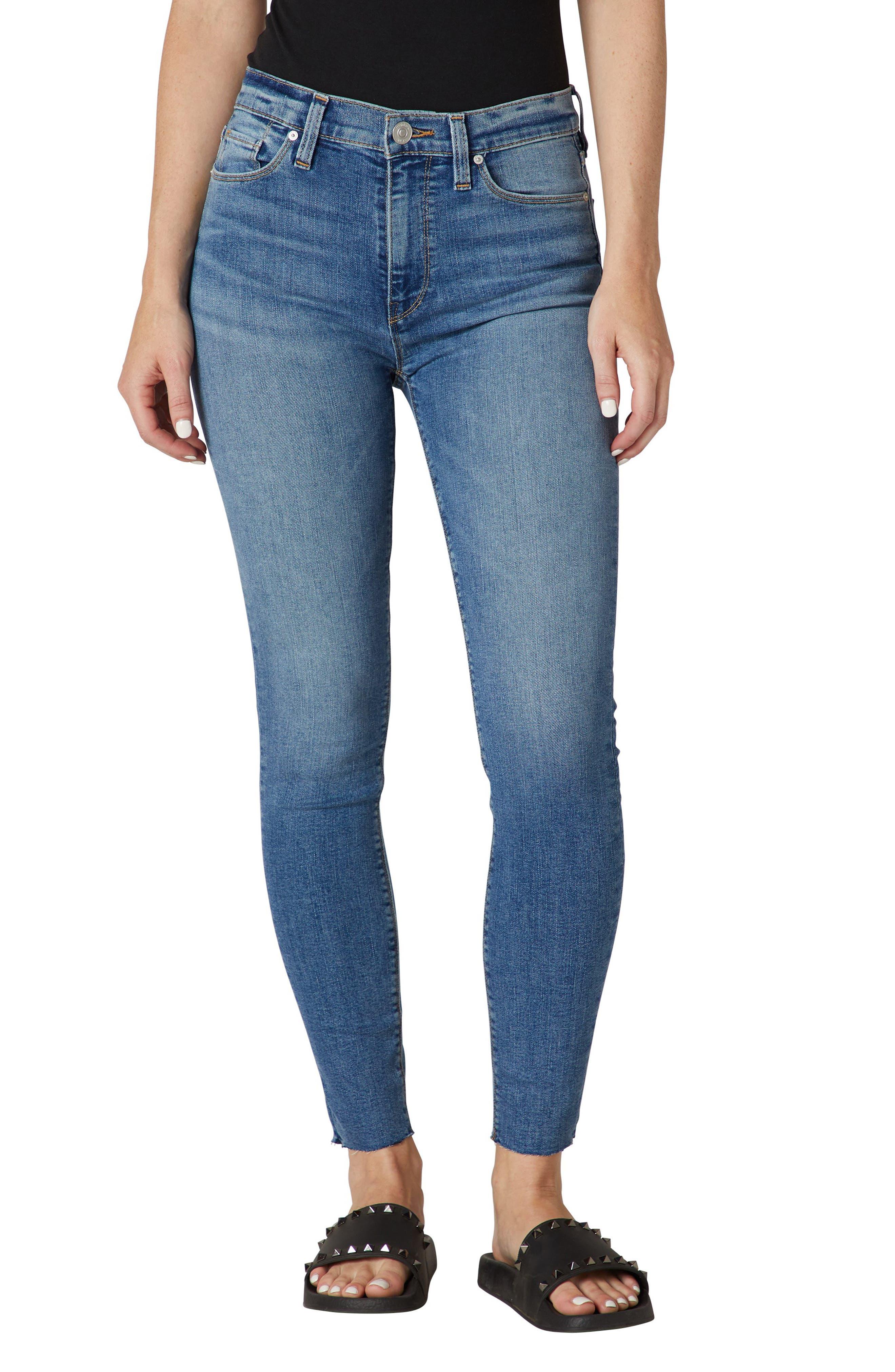 Barbara High Waist Ankle Super Skinny Jeans
