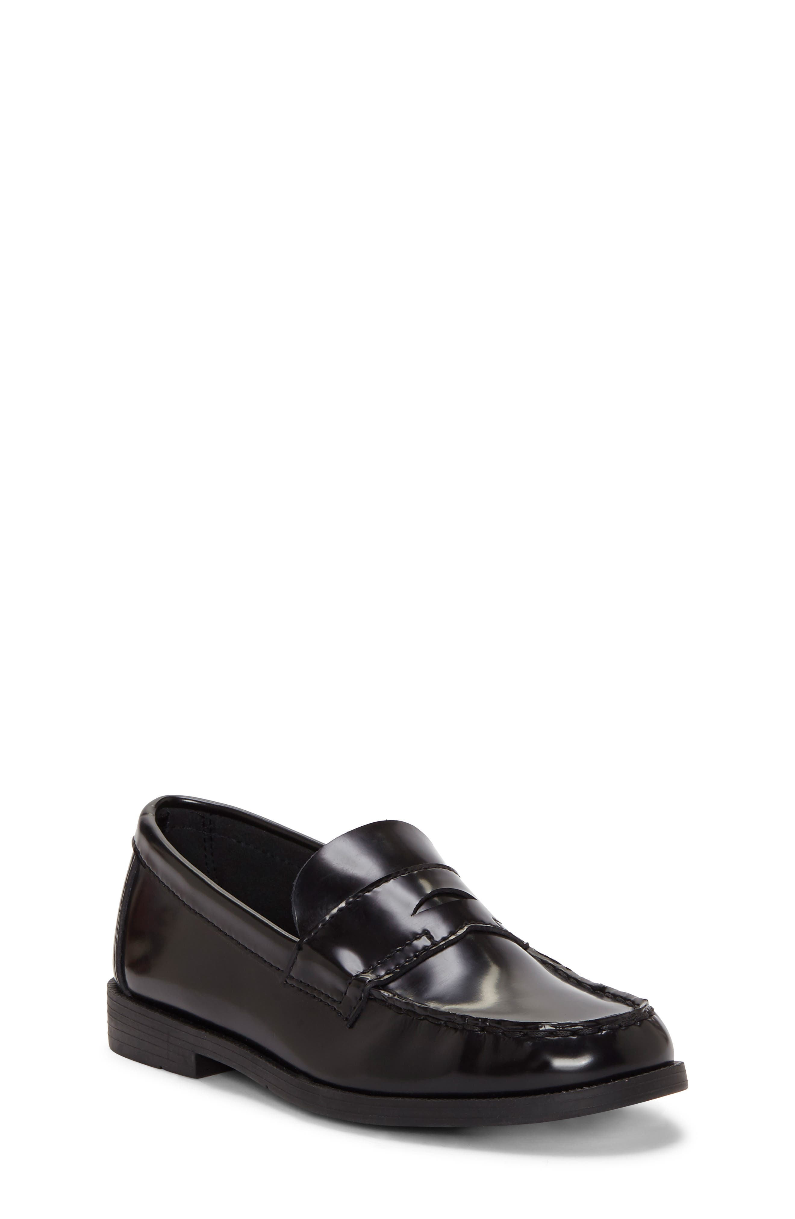 Toddler Boys First Semester Teacha Penny Loafer Size 11 M  Black