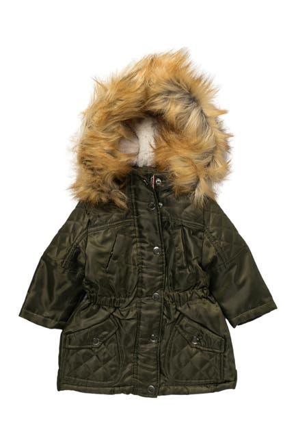 Image of Urban Republic Removable Faux Fur Trim Anorak Jacket