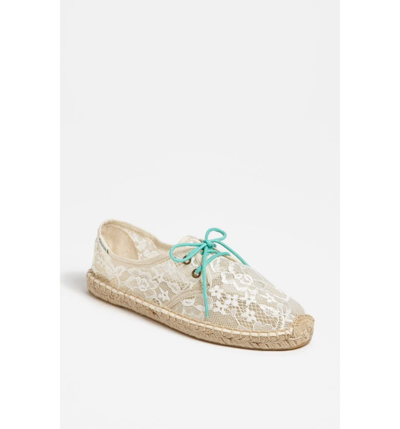 SOLUDOS Lace-Up Espadrille, Main, color, 900