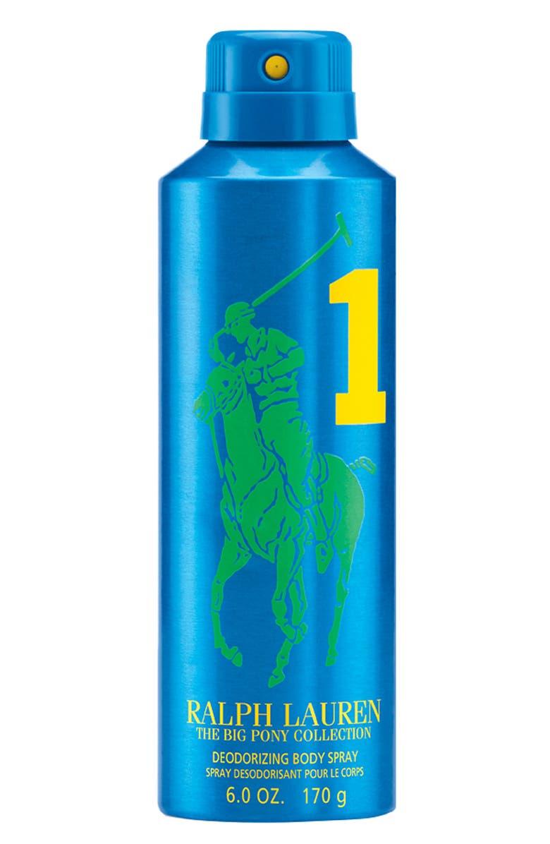 POLO RALPH LAUREN Ralph Lauren 'Big Pony #1 - Blue' Allover Body Spray, Main, color, 000