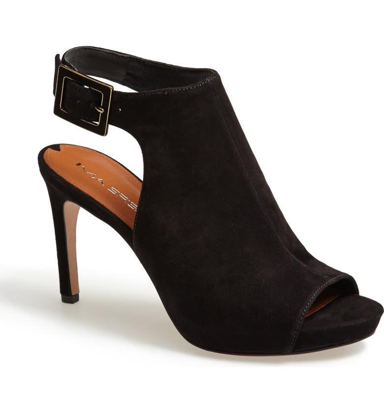 VIA SPIGA 'Nino' Ankle Strap Sandal, Main, color, 002