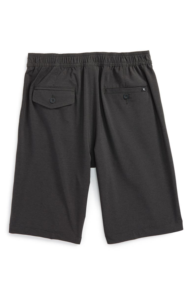 RIP CURL Omaha Hybrid Board Shorts, Main, color, BLACK