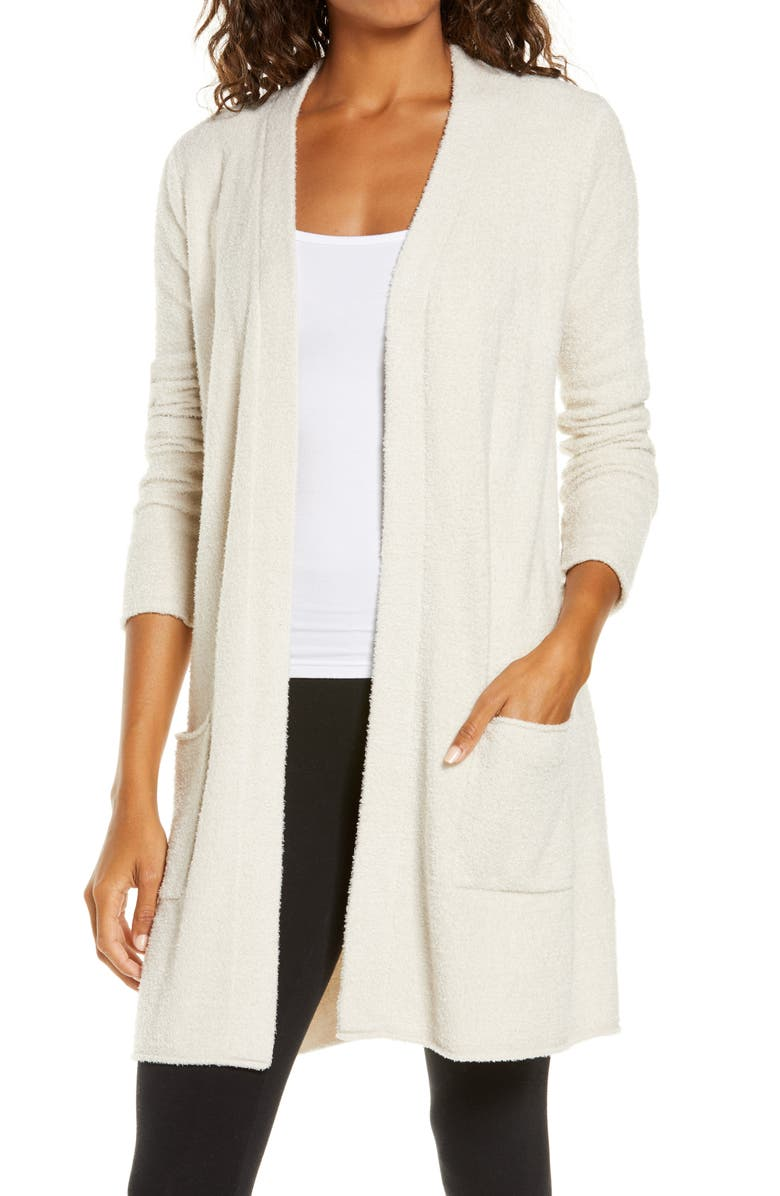 BAREFOOT DREAMS<SUP>®</SUP> CozyChic Lite<sup>®</sup> Long Cardigan, Main, color, BISQUE