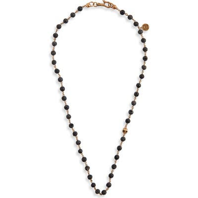 John Varvatos Stone Bead Necklace