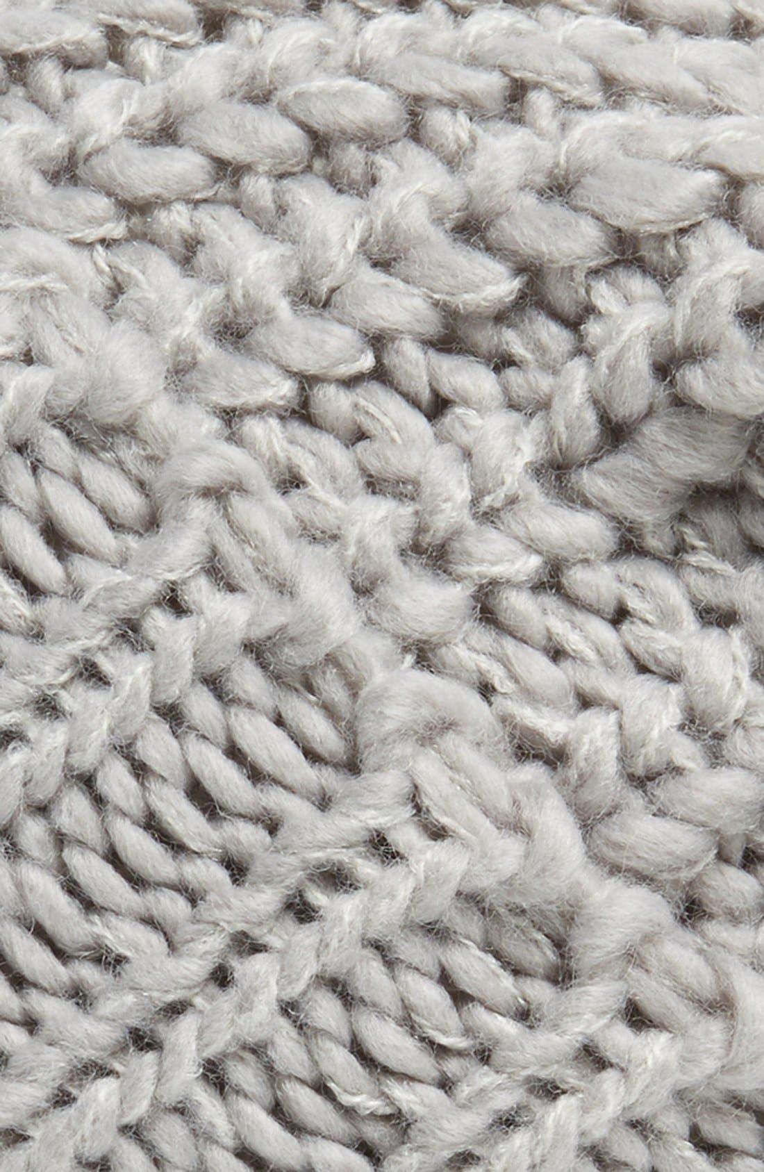 ,                             Chunky Rib Knit Beanie,                             Alternate thumbnail 4, color,                             020