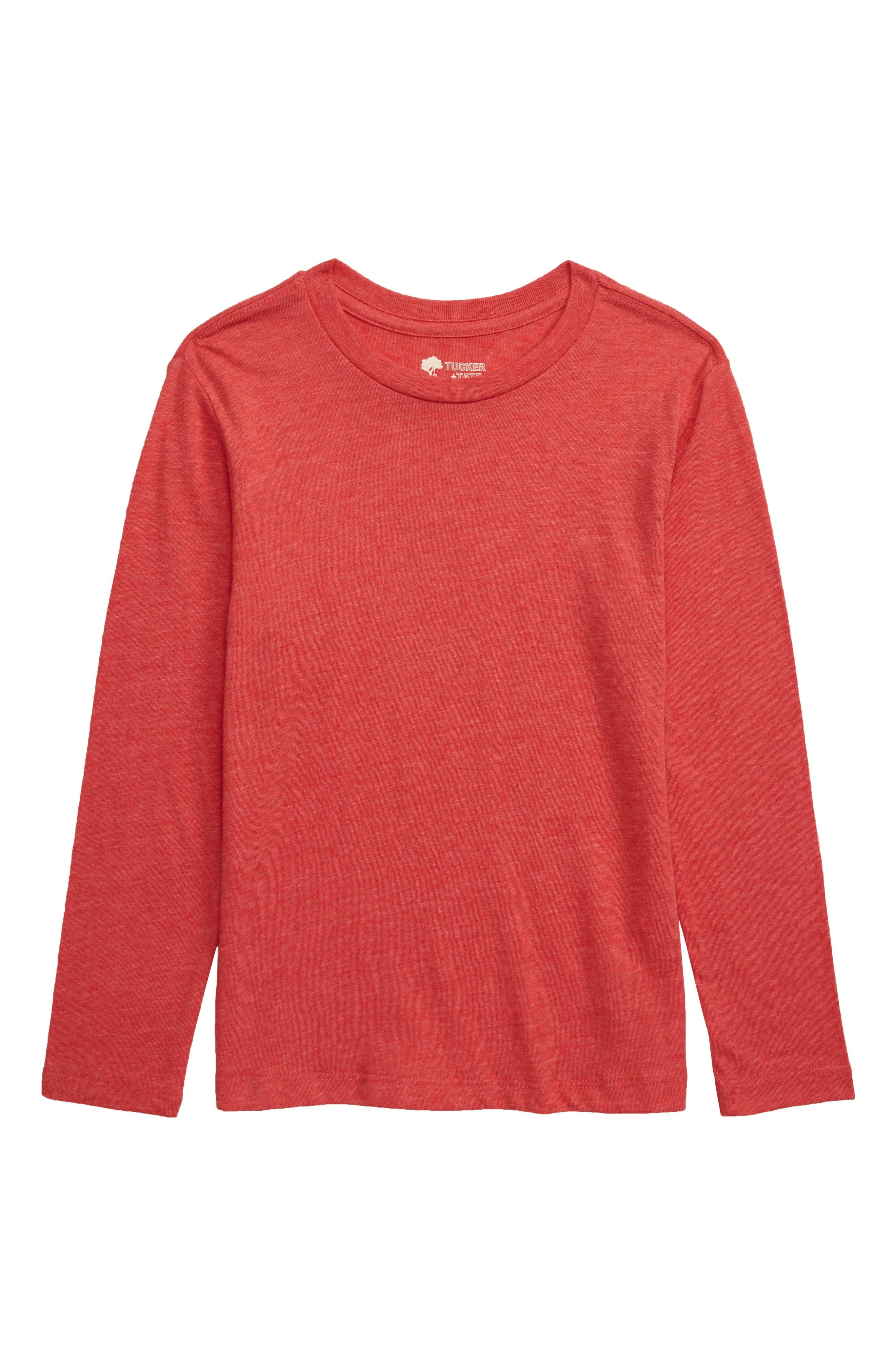 Boys Tucker  Tate Long Sleeve TShirt Size 7  Red