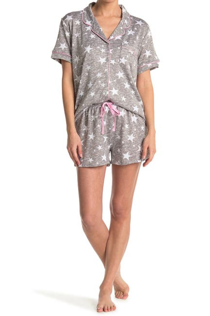 Image of PJ Couture Cozy Lux Notch Pajama Set