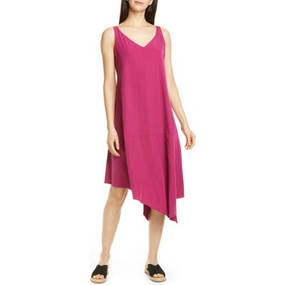 Eileen Fisher Asymmetrical Shift Dress