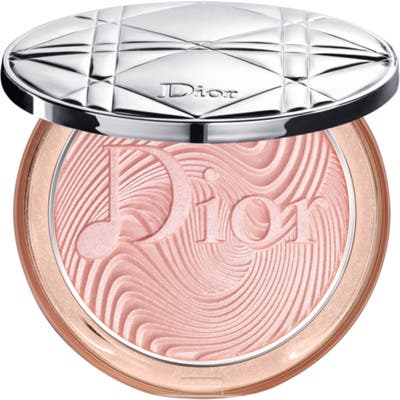 Dior Glow Vibes Diorskin Nude Luminizer Powder Highlighter - 1 Rosy Vibes