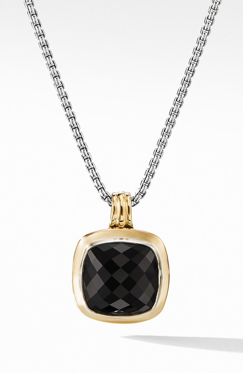 DAVID YURMAN Albion<sup>®</sup> Pendant with 18k Gold, Main, color, BLACK ONYX