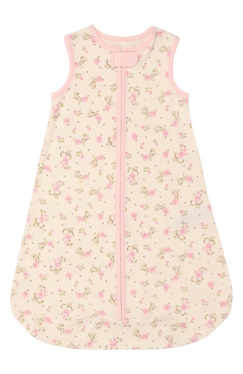 LITTLE ME Rose Wearable Blanket, Main, color, ROSE