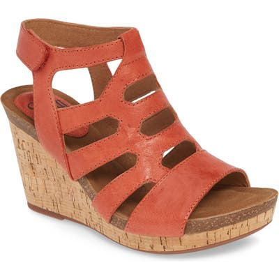 Sofft Courtnee Wedge Sandal- Red