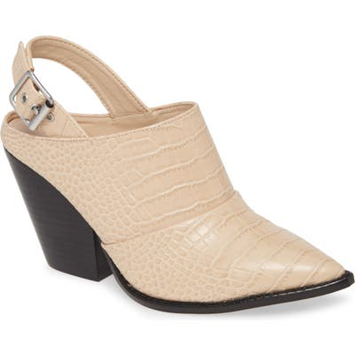 Chinese Laundry Tilani Slingback Bootie- Beige