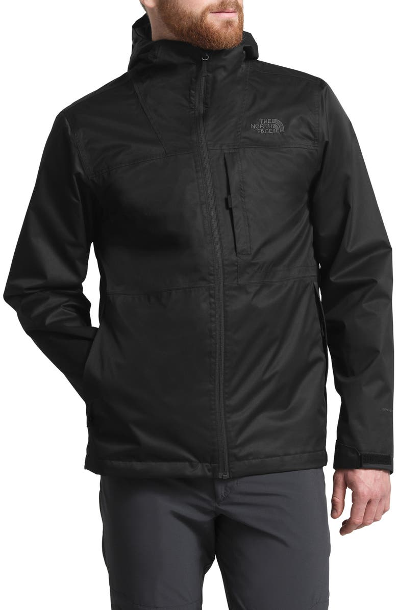 THE NORTH FACE Arrowood TriClimate<sup>®</sup> Waterproof 3-In-1 Jacket, Main, color, TNF BLACK