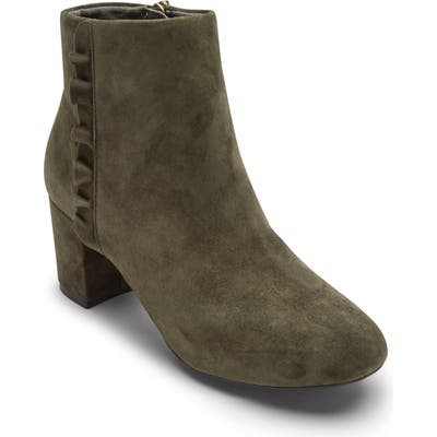 Rockport Total Motion Oaklee Bootie- Green