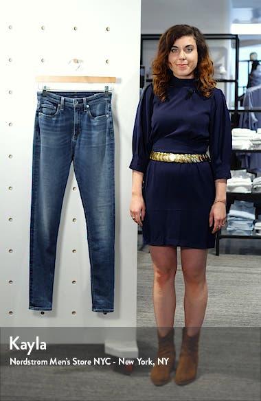 Nina High Waist Skinny Jeans, sales video thumbnail