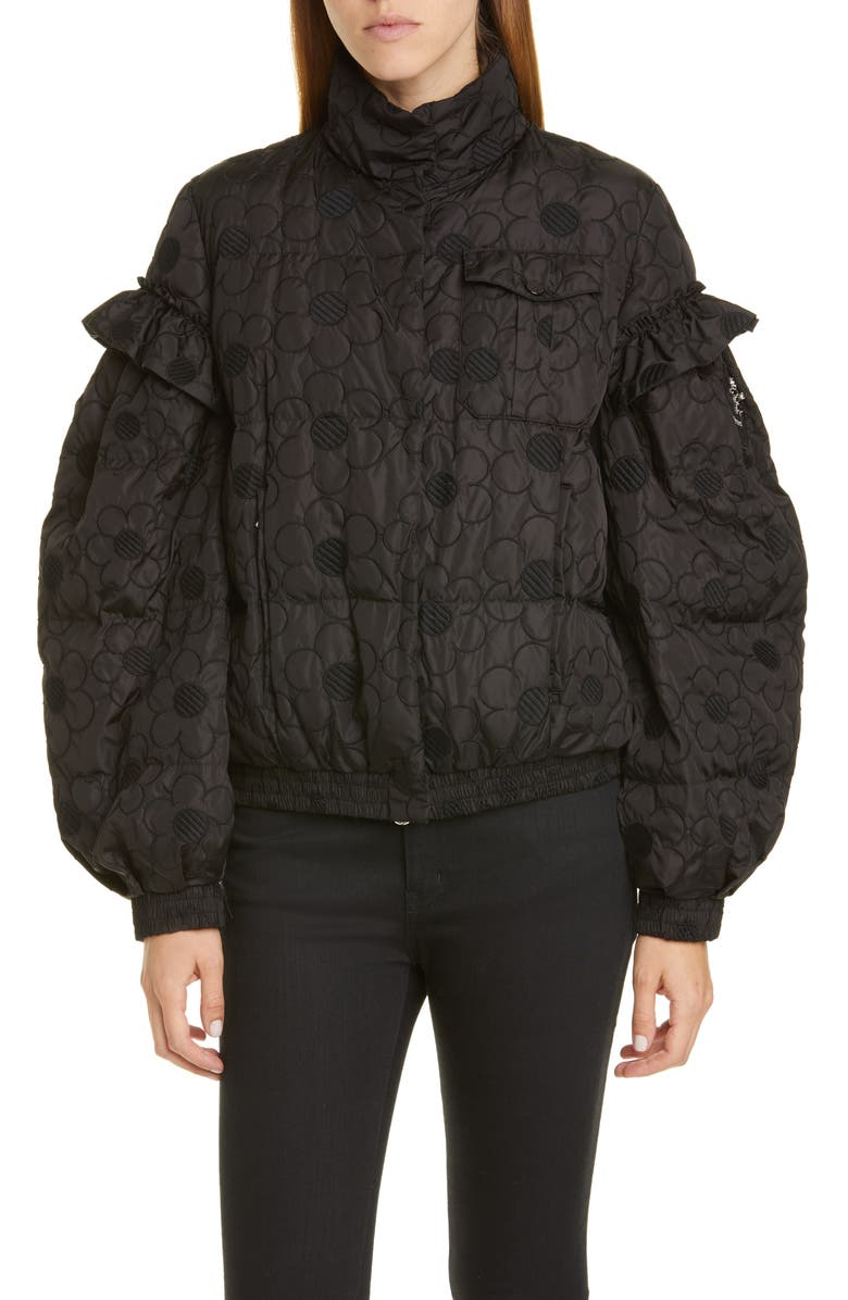 2b72646c5 Moncler Genius by Moncler x 4 Simone Rocha Floral Embroidered Puffer ...