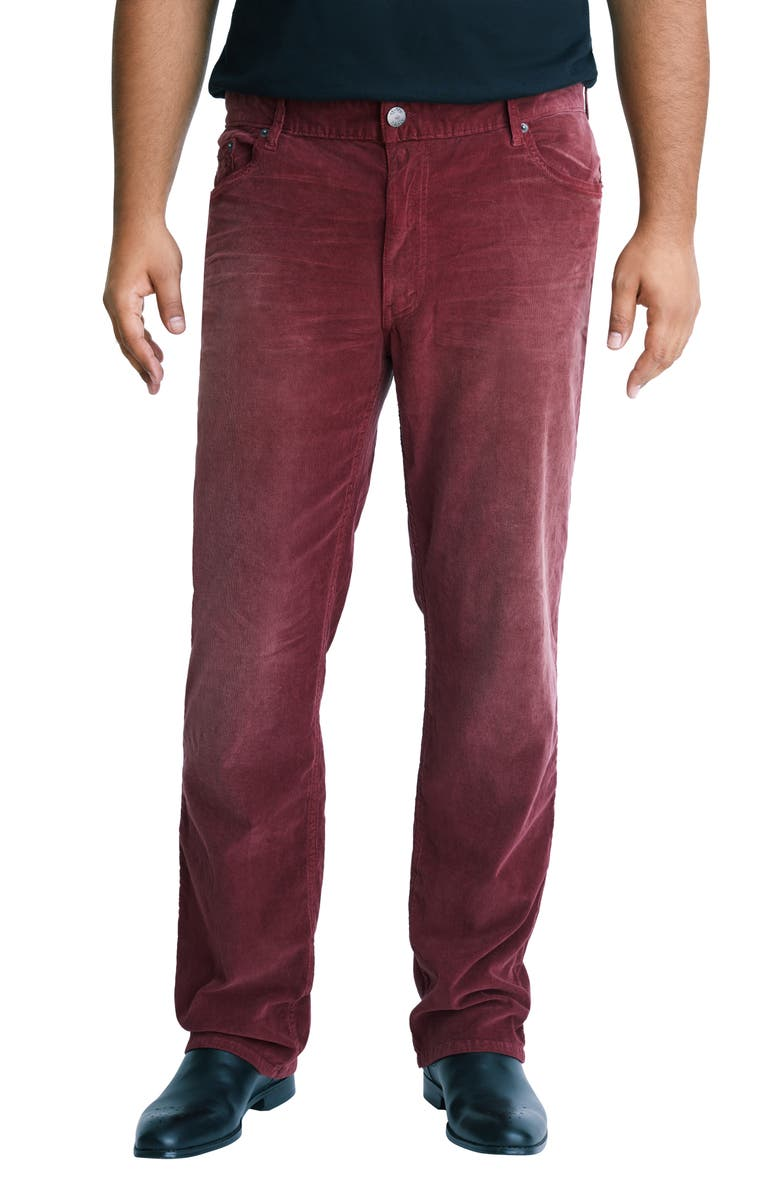 MVP COLLECTIONS Straight Leg Corduroy Jeans, Main, color, 610