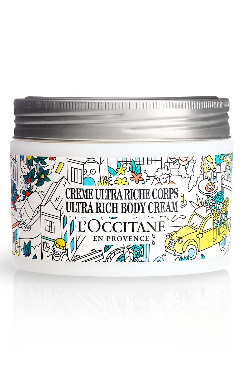L'OCCITANE x OMY Shea Butter Ultra Rich Body Cream, Main, color, NO COLOR