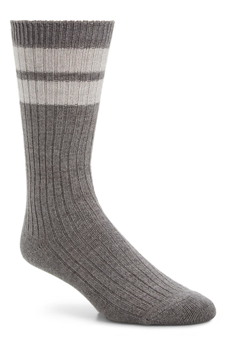 ENTIREWORLD Stripey Socks, Main, color, 020