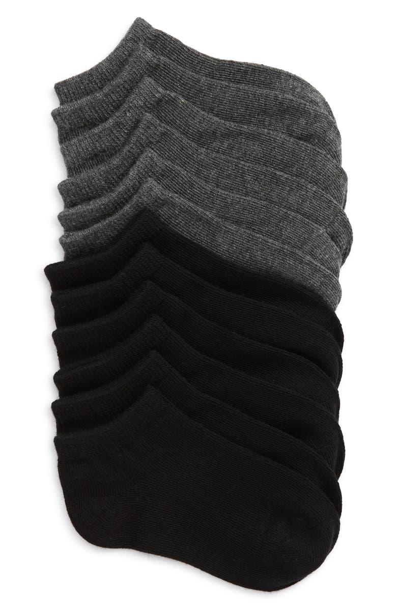 TUCKER + TATE 6-Pack Low Cut Socks, Main, color, MULTI
