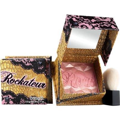 Benefit Rockateur Rose Gold Powder Blush - Rose Gold