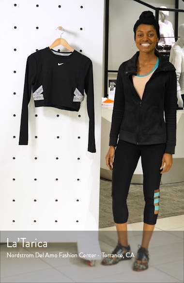 Pro Capsule AeroAdapt Long Sleeve Crop Top, sales video thumbnail