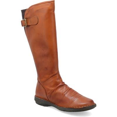 Miz Mooz Providence Knee High Boot - Brown