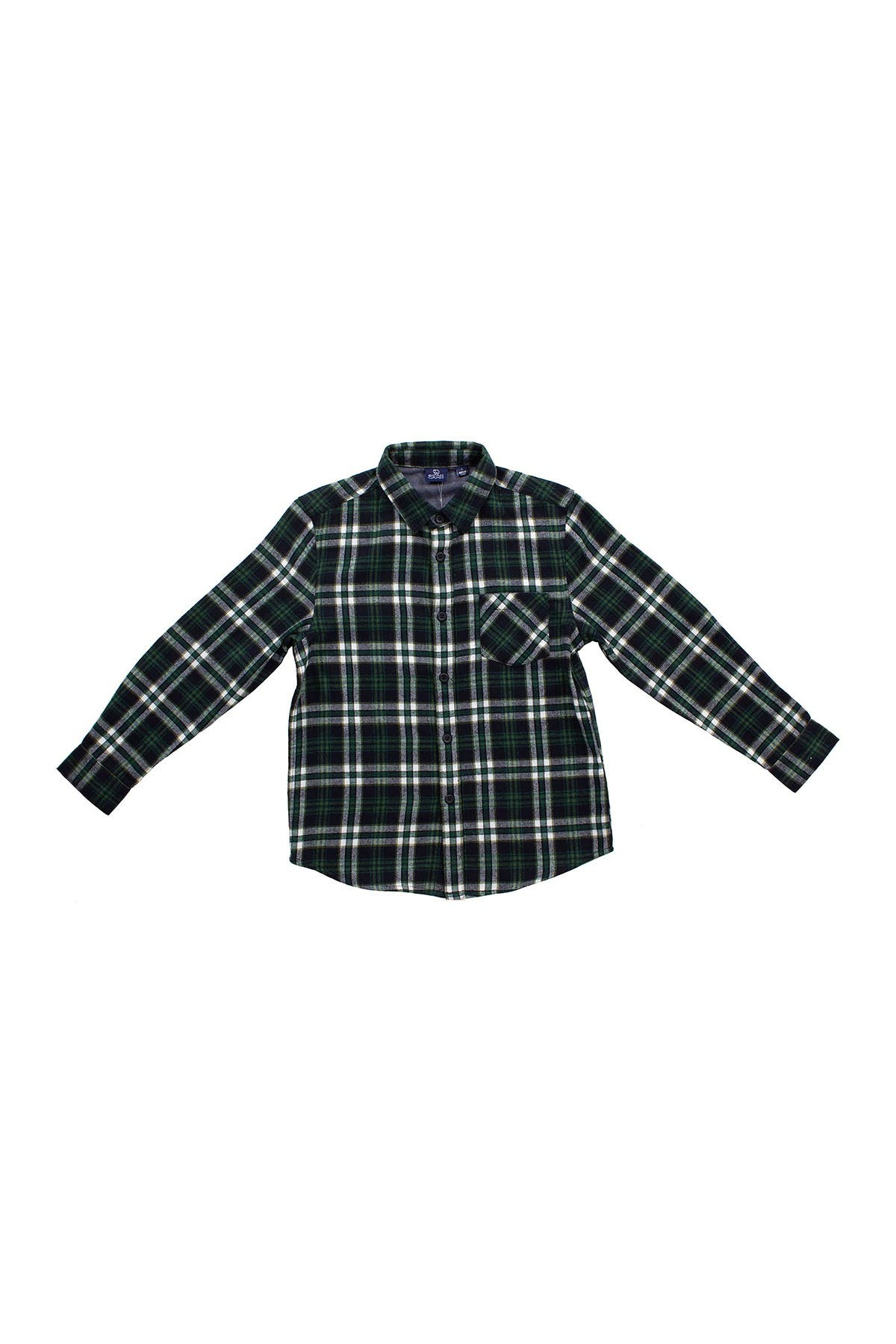 Image of BEAR CAMP Flannel Plaid Button Down Shirt
