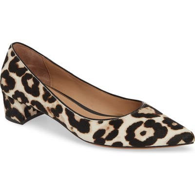 Linea Paolo Bellini Genuine Calf Hair Pump, Brown