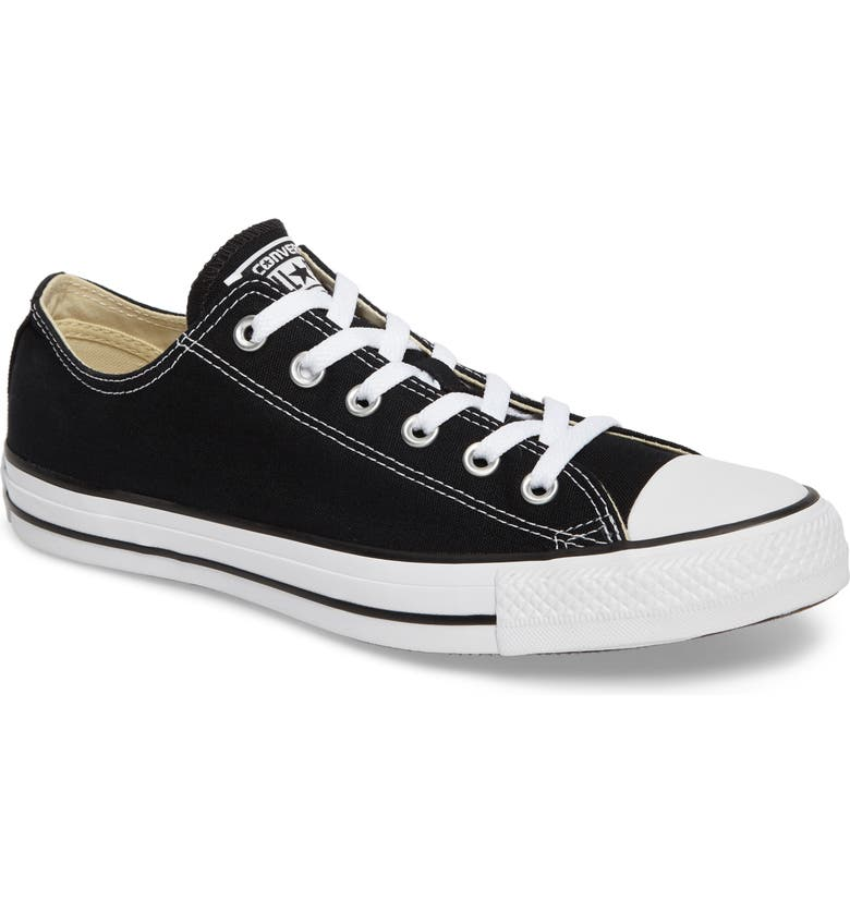 CONVERSE Chuck Taylor<sup>®</sup> Low Sneaker, Main, color, BLACK