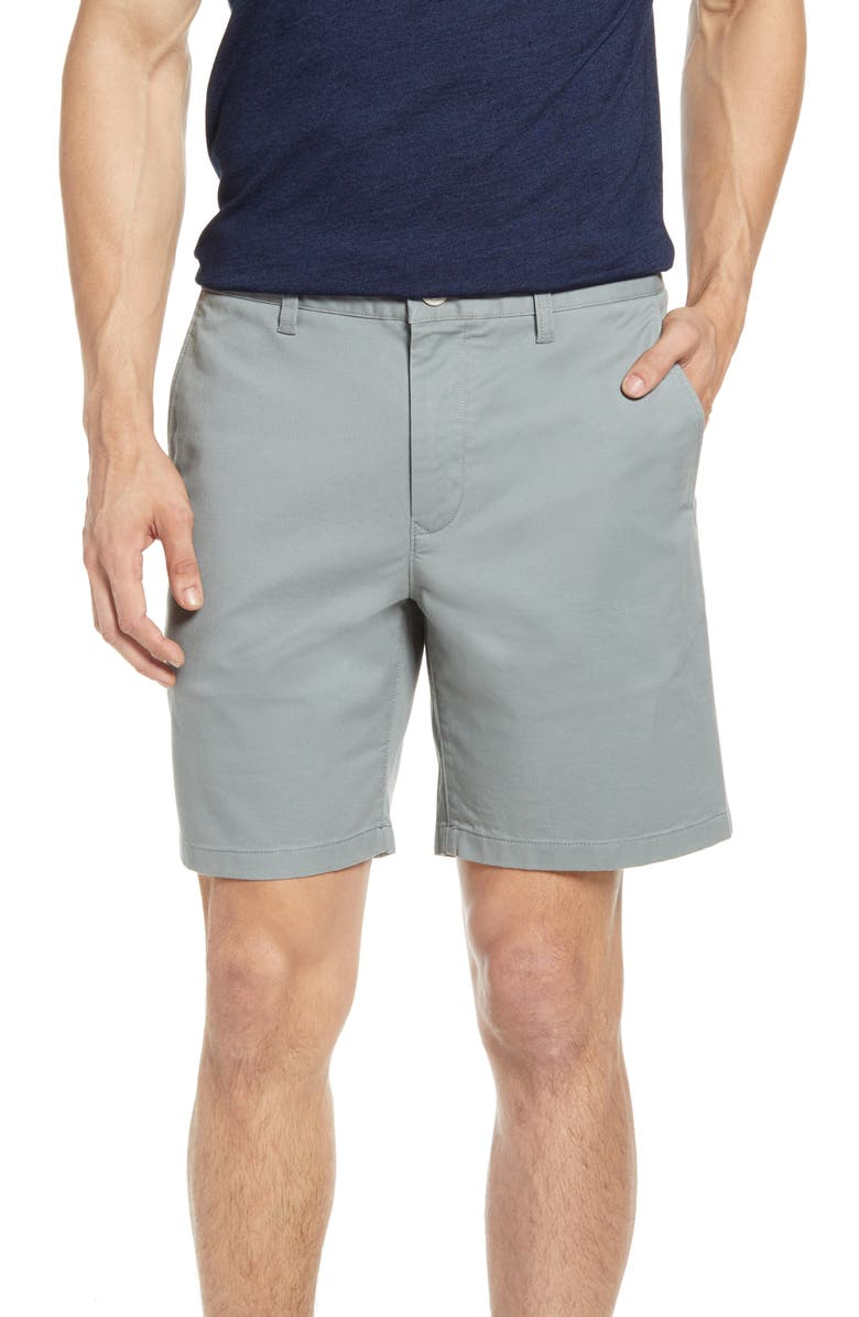 BONOBOS Stretch Washed Chino 7-Inch Shorts, Main, color, FADED OLIVE