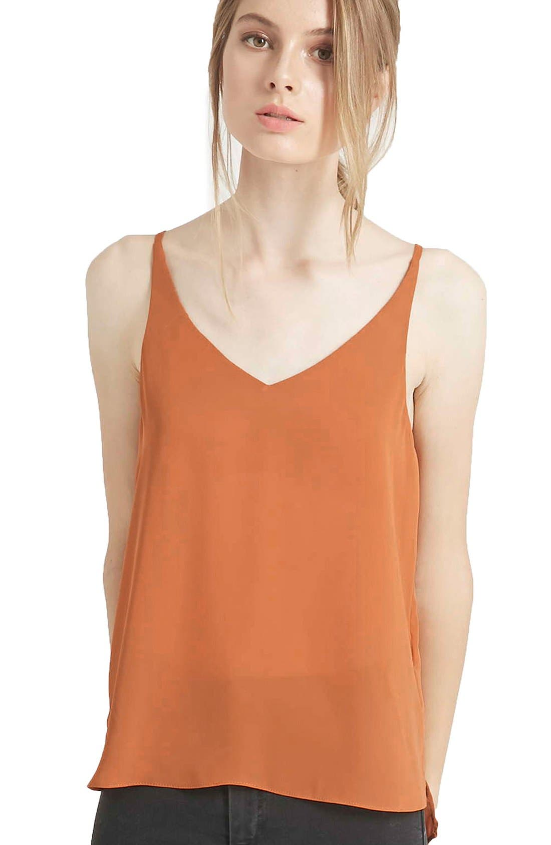 ,                             Strappy V-Neck Camisole,                             Alternate thumbnail 9, color,                             230