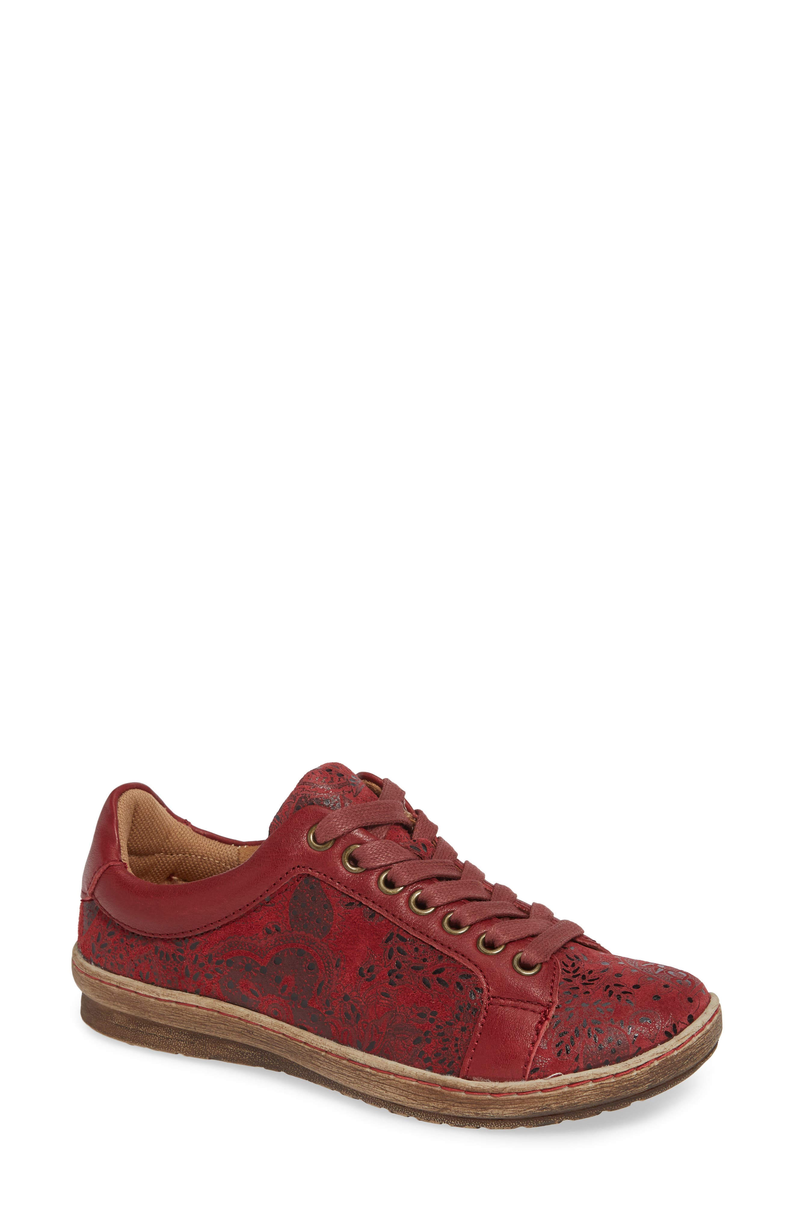Comfortiva Caledonia Sneaker W - Red