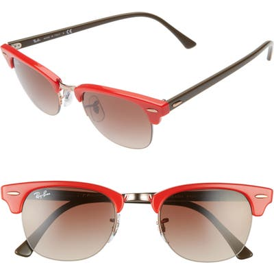 Ray-Ban 4m Gradient Clubmaster Sunglasses -