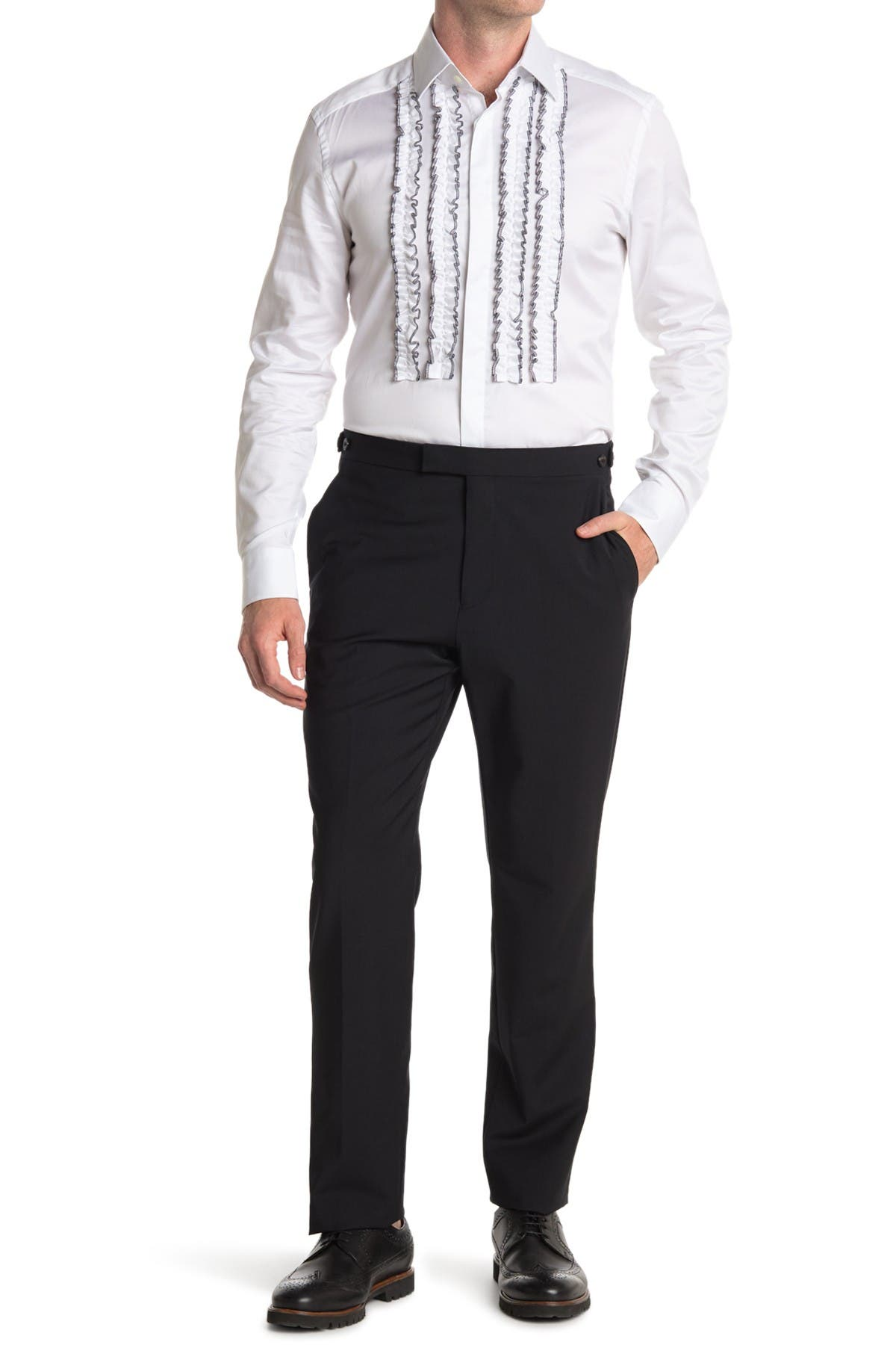 Image of REISS Belief Modern Fit Trousers