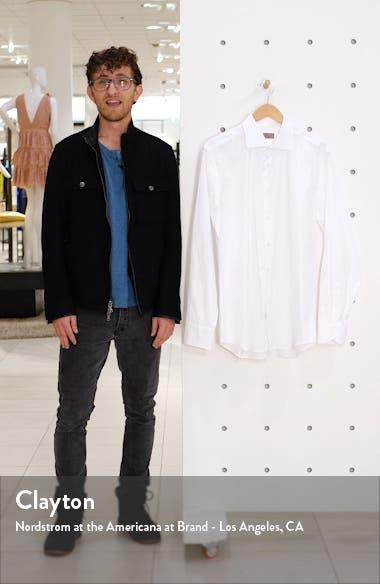 Trim Fit Solid Dress Shirt, sales video thumbnail
