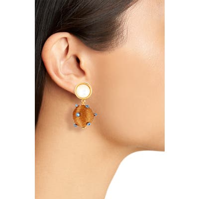 Lizzie Fortunato Sparkler Drop Earrings