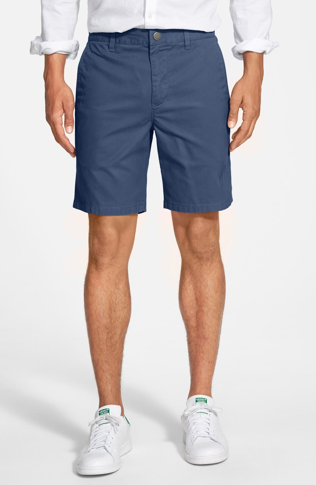 ,                             Washed Chino Shorts,                             Main thumbnail 64, color,                             416