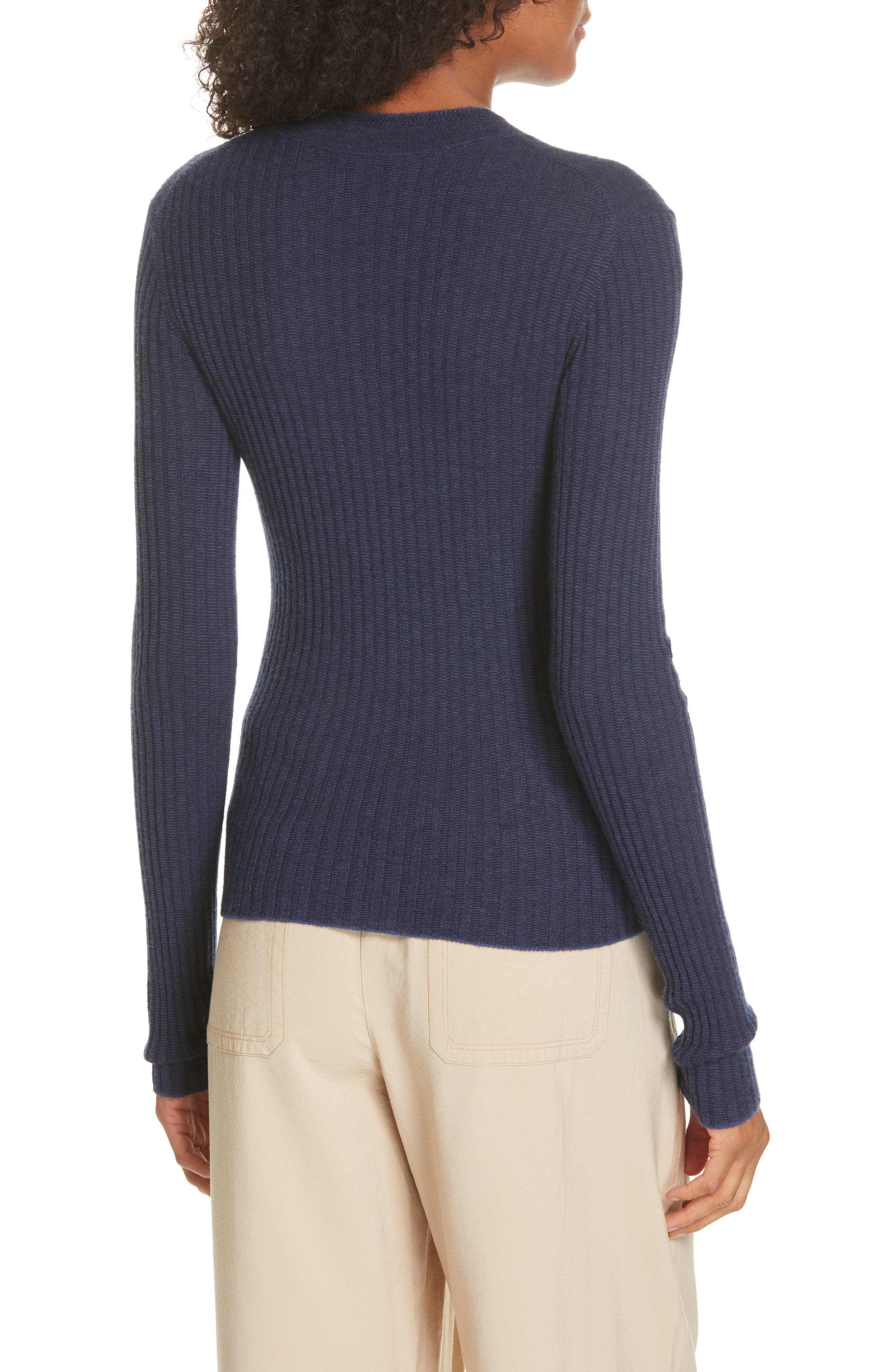 ,                             Mixed Rib Stitch Sweater,                             Alternate thumbnail 9, color,                             400