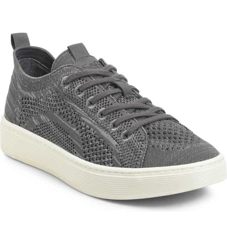 SÖFFT Somers Knit Sneaker, Main, color, STEEL GREY