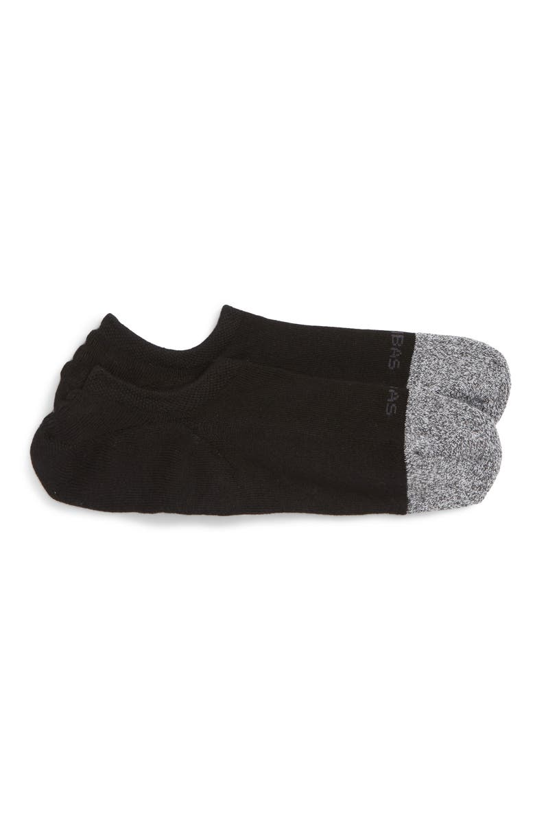 BOMBAS Cushioned No-Show Socks, Main, color, 001