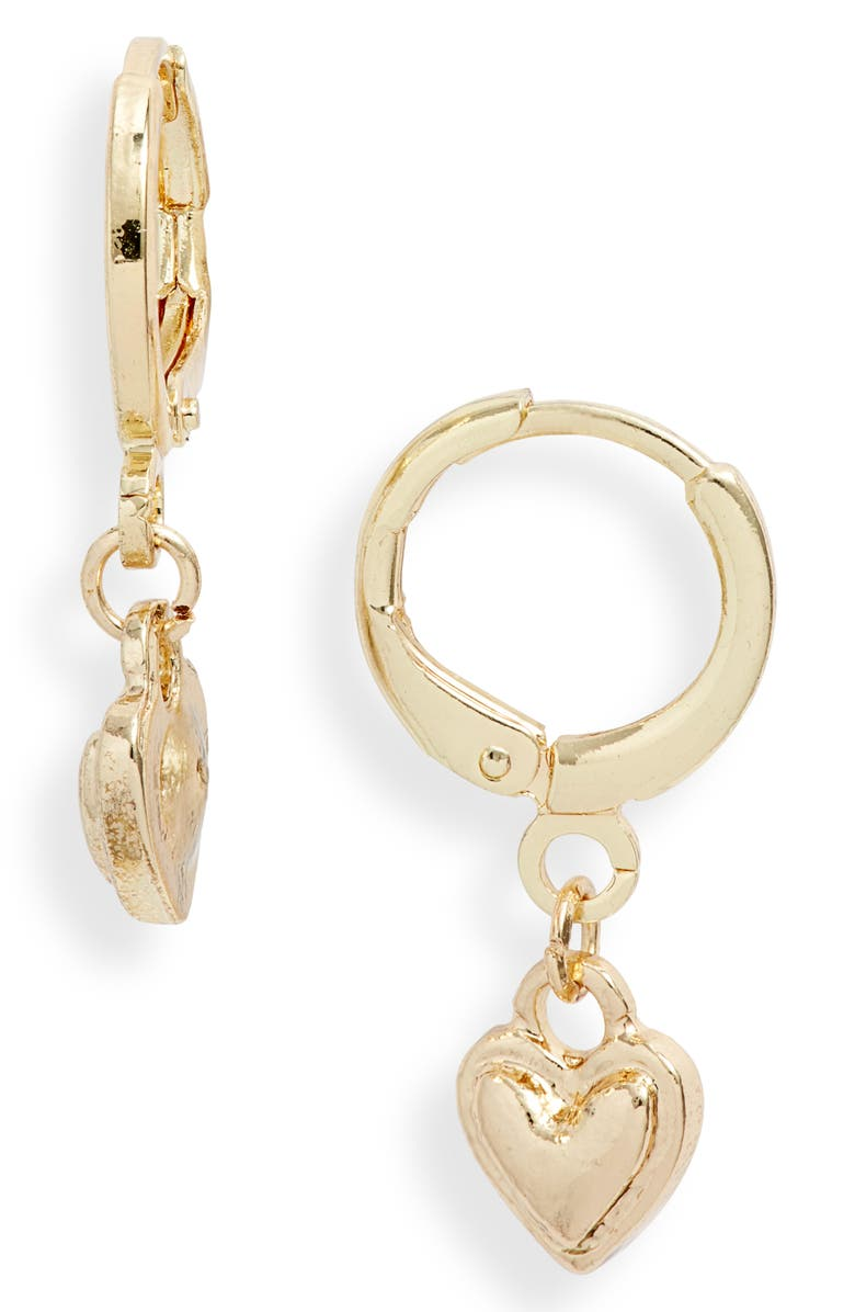 8 OTHER REASONS Love Heart Drop Earrings, Main, color, 710
