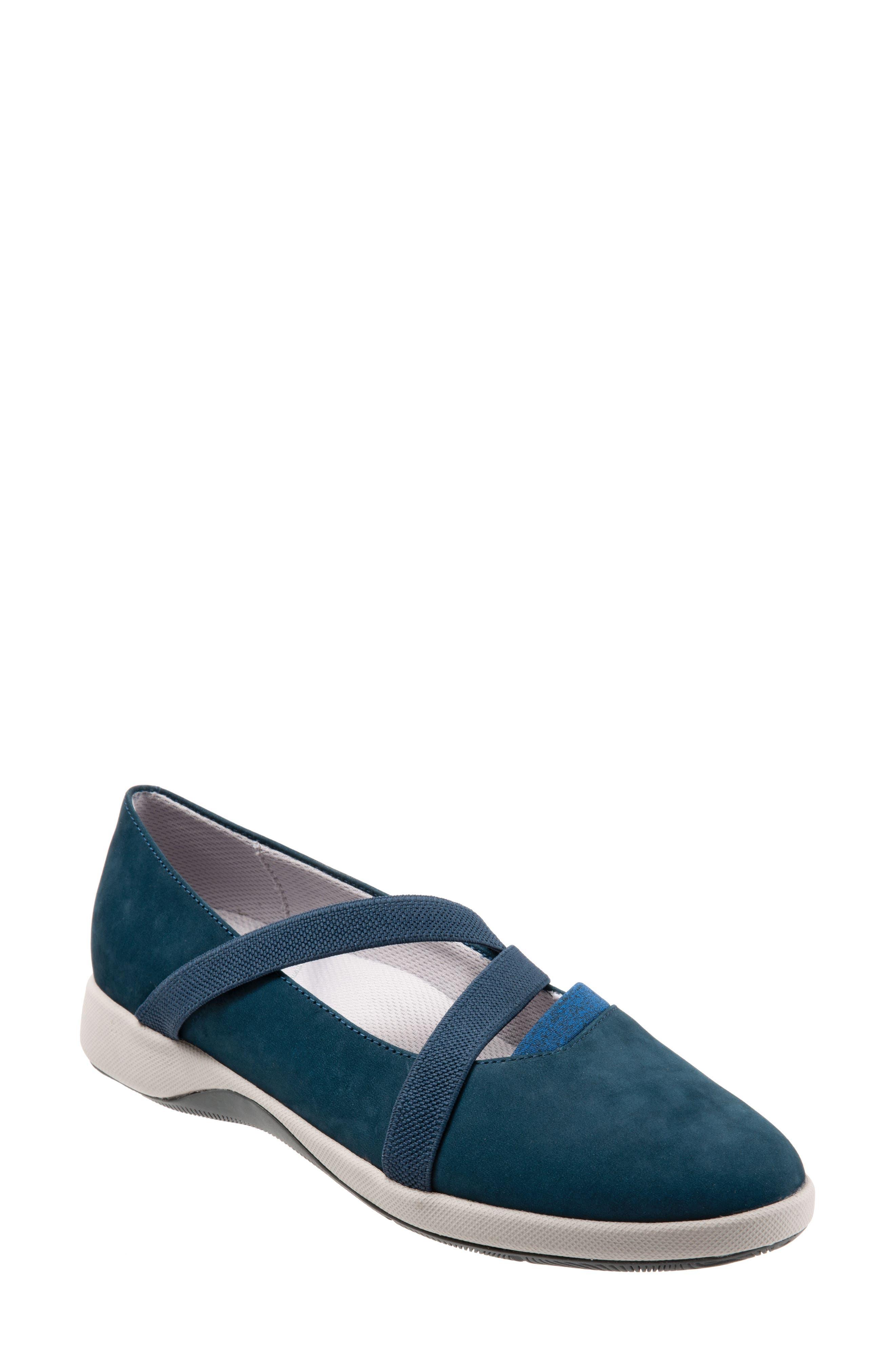 Softwalk Haely Mary Jane,- Blue