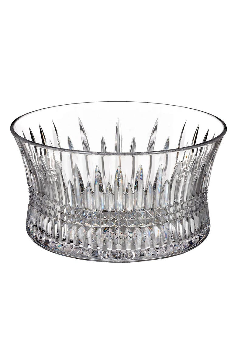 WATERFORD 'Lismore Diamond' Lead Crystal Bowl, Main, color, CLEAR