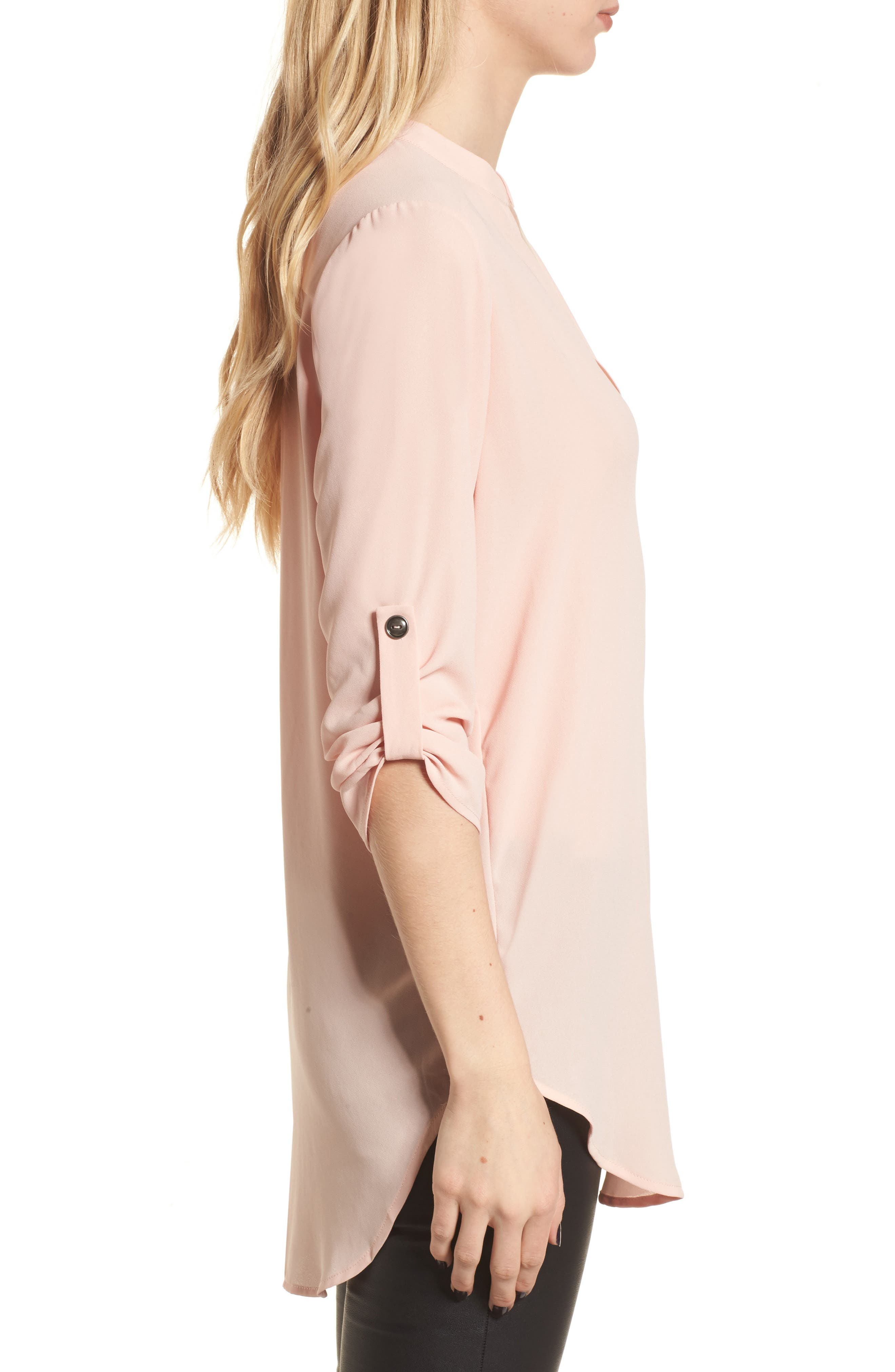 ,                             Perfect Roll Tab Sleeve Tunic,                             Alternate thumbnail 219, color,                             250