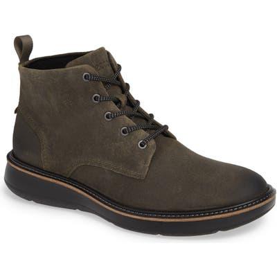 Ecco Aurora Plain Toe Boot, Green