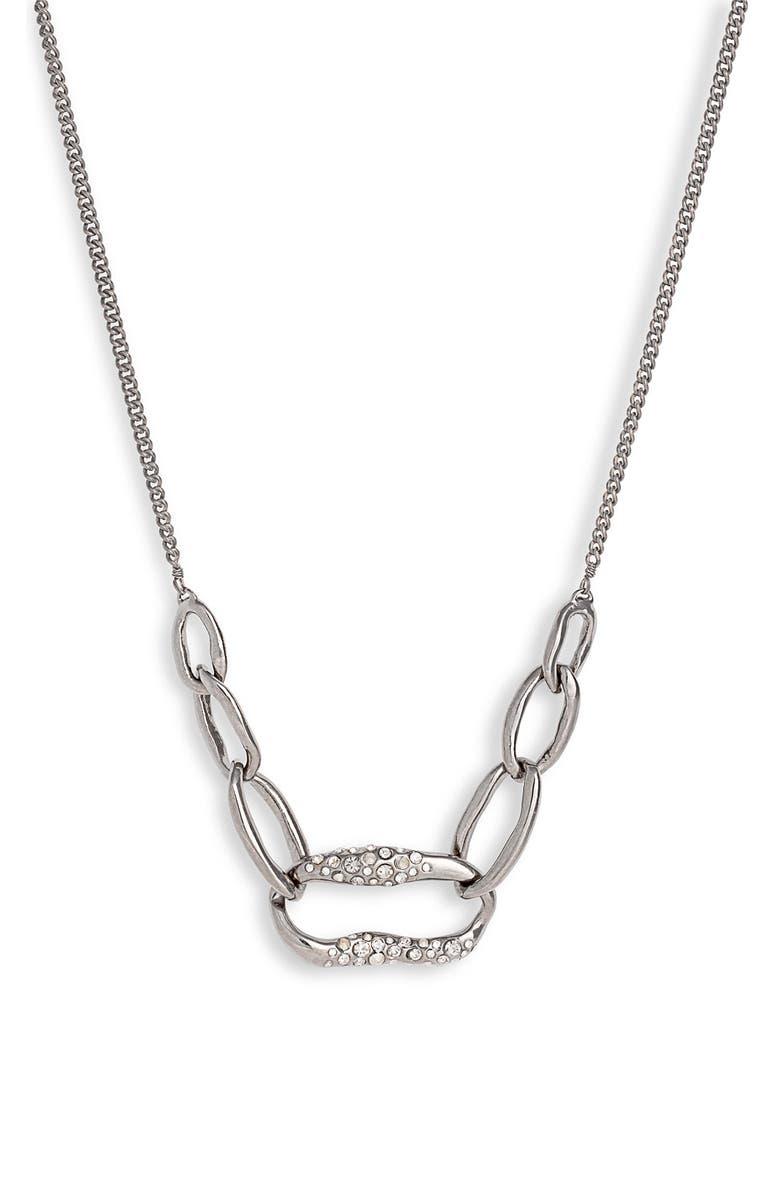 Alexis Bittar 'Miss Havisham' Encrusted Short Link Necklace
